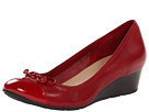 Cole Haan - Air Tali Lace Wedge (Velvet Red/Velvet Red Patent) - Cole Haan Shoes