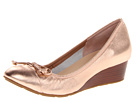 Cole Haan - Air Tali Lace Wedge (Rose Gold Metallic) - Footwear