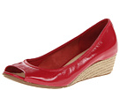 Cole Haan - Air Tali OT Wedge 40 (Tango Red Patent/Jute) - Cole Haan Shoes