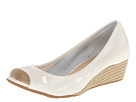 Cole Haan - Air Tali OT Wedge 40 (Ivory Patent/Jute) - Footwear