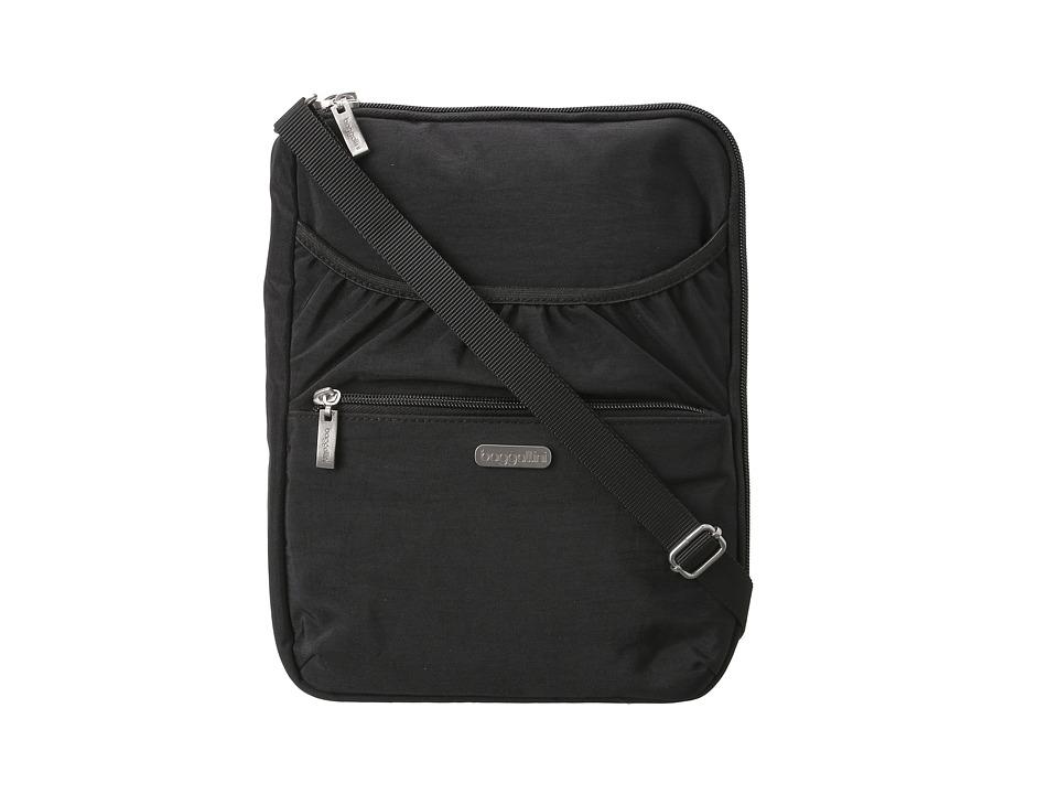 Baggallini Cafe Tablet Case (Black/Khaki) Computer Tablets