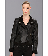 Vince Camuto - Asymmetrical Leather Jacket