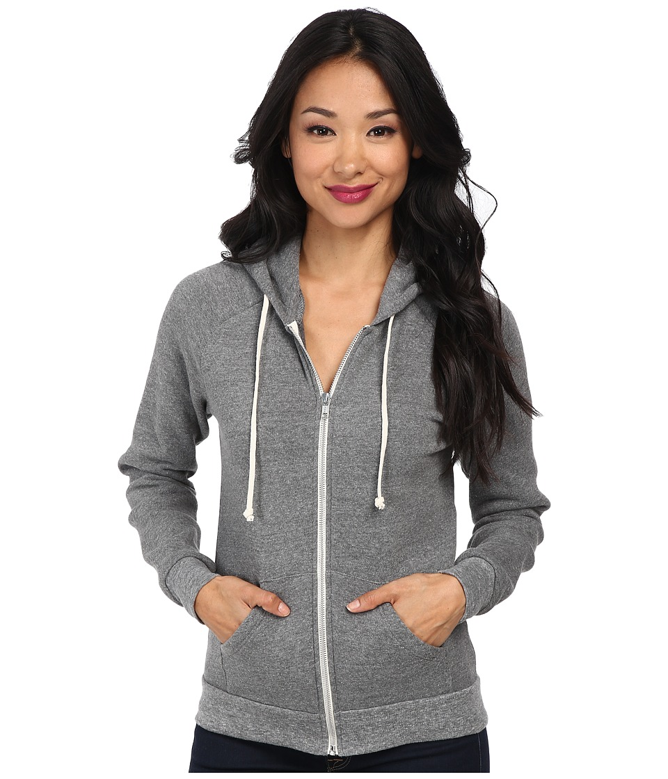 Alternative Adrian Hoodie Eco Grey Womens Sweatshirt