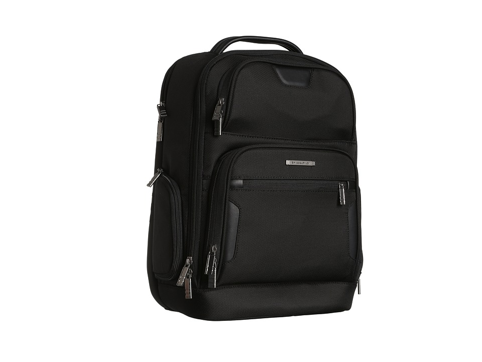 Briggs & Riley Work Medium Backpack (Black) Backpack Bags