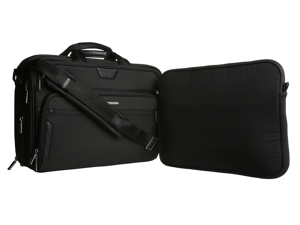 Briggs & Riley - @ Work Large Expandable Brief (Black) Bags