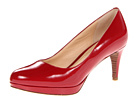 Cole Haan - Chelsea Low Pump (Velvet Red Patent) - Cole Haan Shoes