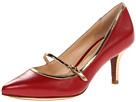 Cole Haan - Chelsea PT MJ Lo Pump (Velvet Red/Gold Specchio) - Footwear