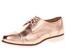 Cole Haan - Gramercy Oxford Cap (Metallic Rose Gold/Pink Linen) - Footwear