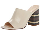 Cole Haan - Luci High Slide (Ivory/Chestnut Stripe Lizard Print) - Footwear