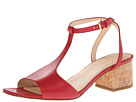 Cole Haan - Luci Low Sandal (Tango Red) - Footwear