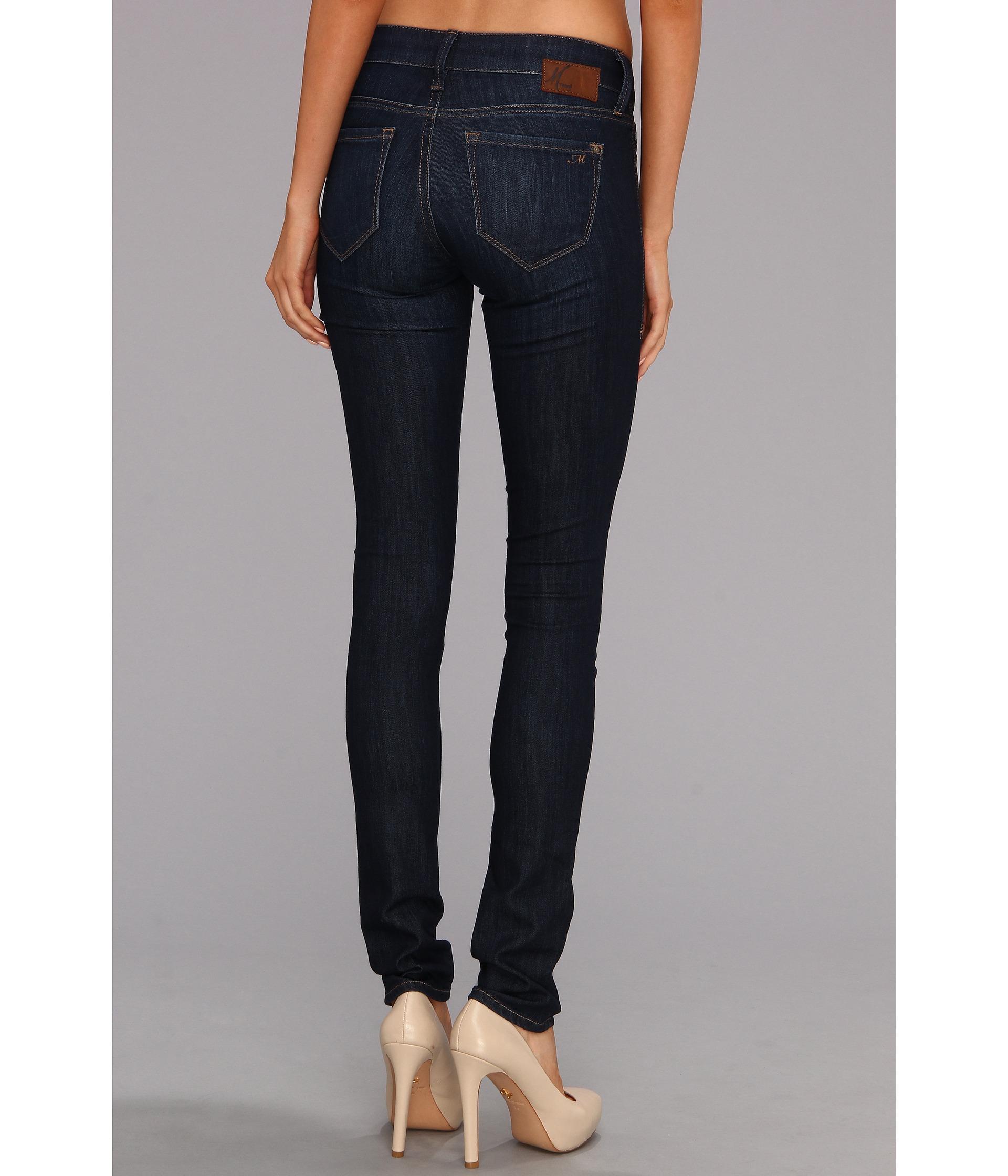 mavi jeans serena low rise super skinny in deep nolita. Black Bedroom Furniture Sets. Home Design Ideas
