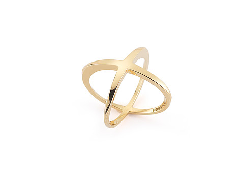 Elizabeth and James Windrose Ring - Gold Plated
