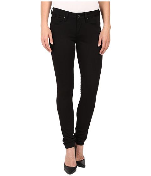 Mavi Jeans Alexa Mid-Rise Super Skinny in Jet Black