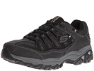 SKECHERS - Afterburn M. Fit (Black) - Footwear