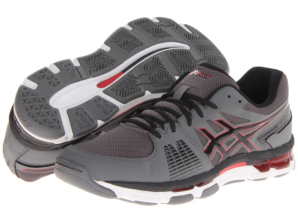 ASICS Gel-Intensity 3 (Titanium/Onyx/Red) Men