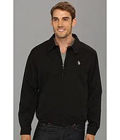 U.S. POLO ASSN. - Micro Golf Jacket w/ Polar Fleece Lining