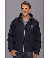 U.S. POLO ASSN. - Solid Windbreaker w/ Polar Fleece Lining