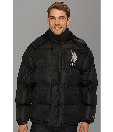U.S. Polo Assn. Men's Classic Short Puffer Jacket with Small Logo. from $ 35 14 Prime. 4 out of 5 stars Galaxy by Harvic. Spire Men's Puffer Bubble Jacket With Contrast Trim Men's Classic Bubble Jacket with Polar Fleece Lining and Large Logo. from $ 29 20 Prime. out of 5 stars Sunward.