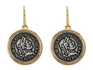 LAUREN Ralph Lauren - Coin Drop Earrings (Two-Tone)