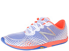 New Balance WR00 White, Coral Shoes