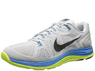 Nike - Lunarglide+ 5 (Light Base Grey/Vivid Blue/Volt/Black)