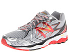 New Balance M1080v4 Silver, Red Shoes