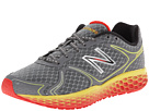 New Balance Fresh Foam 980 Dark Heather Grey, Red, Yellow Shoes
