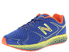 New Balance Fresh Foam 980 Blue, Green Gecko, Neon Orange Shoes