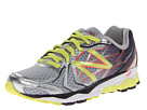 New Balance W1080v4 Silver, Purple, Yellow Shoes