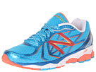 New Balance W1080v4 Blue, Pink, White Shoes
