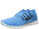 Nike - Free 5.0+ (Vivid Blue/Green Abyss/Summit White/Black)