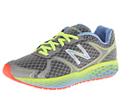 New Balance Fresh Foam 980 Dark Heather Grey, Green Gecko, Blue Bell Shoes