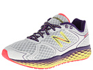 New Balance Fresh Foam 980 White, Purple Cactus Flower, Neon Yellow Shoes