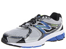 New Balance M680v2 Silver, Blue Shoes