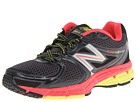 New Balance W680v2 Black, Pink Shoes