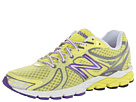 New Balance W870v3 Yellow, Purple Shoes