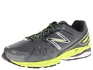 New Balance M770v4 Grey, Yellow Shoes