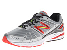 New Balance M770v4 Silver, Red Shoes