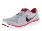 Nike - Flex Experience Run 2 (Wolf Grey/Gym Red/White/Black)