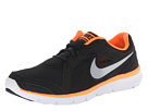 Nike - Flex Experience Run 2 (Black/Total Orange/White/Metallic Cool Grey)