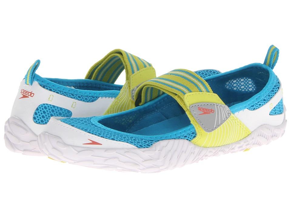 Speedo Offshore Strap Sulphur Spring/White Womens Shoes
