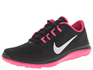 Nike FS Lite Run (Black/Vivid Pink/Metallic Silver) Women's Running Shoes