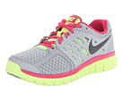 Nike - Flex 2013 Run (Wolf Grey/Volt Ice/Vivid Pink/Anthracite)