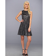 Vince Camuto - Fit & Flare Dress w/ Radial Seaming