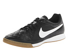 Nike - Tiempo Genio Leather IC (Black/White)