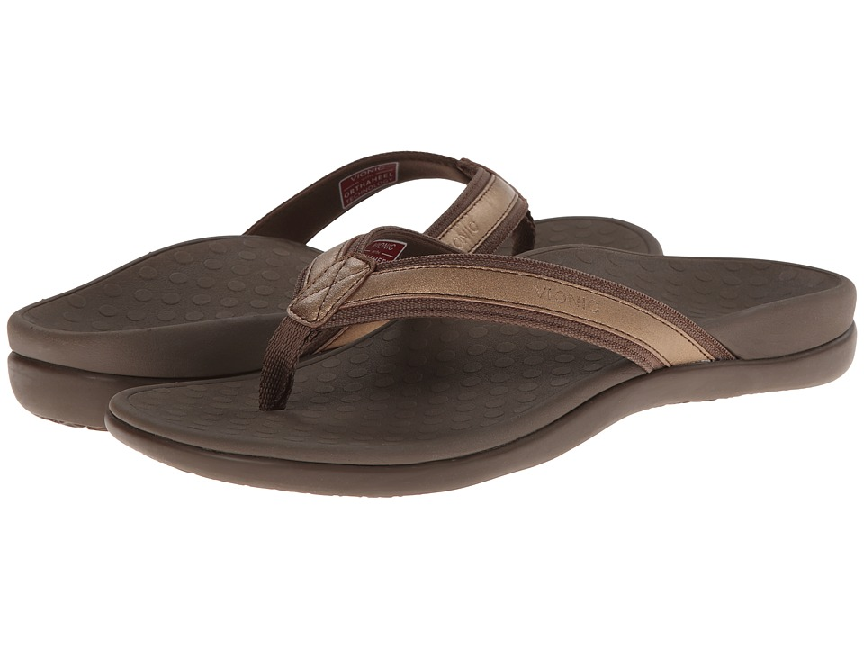 VIONIC Tide II (Bronze Metallic) Sandals