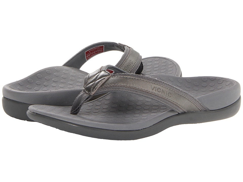 VIONIC Tide II (Pewter Metallic) Sandals
