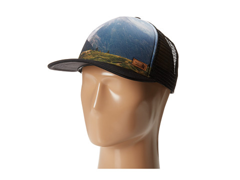 The North Face - Photobomb Hat (Mountain Black Print) - Hats