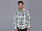 Joe's Jeans Distressed Plaid Relaxed Single Pocket Woven