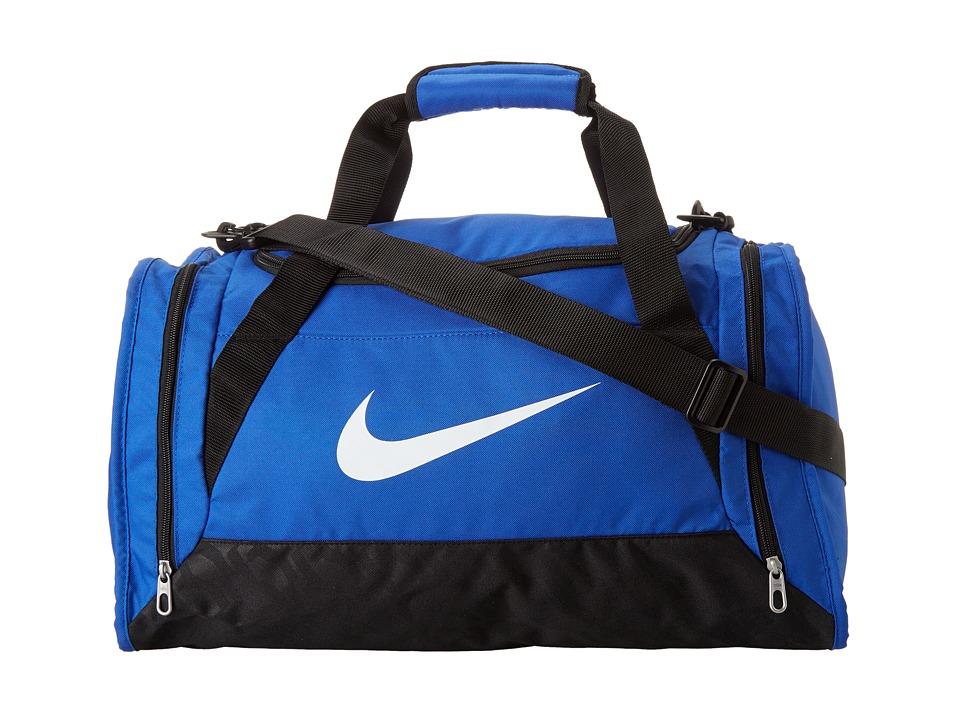 Nike - Brasilia 6 Small Duffel (Game Royal/Black/White 4) Duffel Bags